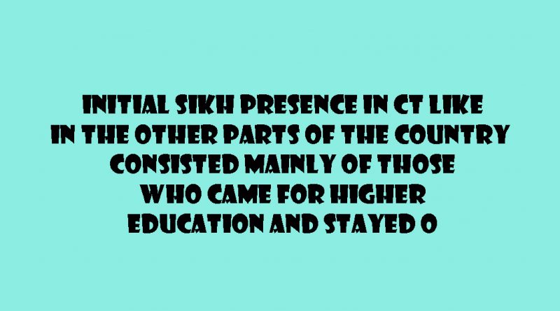 SIKHS IN CONNECTICUT