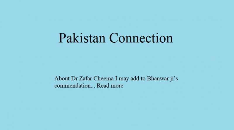 Pakistan Connection